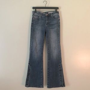 Anthropologie Pilcro High Rise Bootcut Jeans